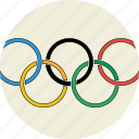 icons, logo, olympics2016, rings, the olympics logo icon
