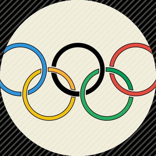 icons, logo, olympics2016, rings, the olympics logo icon