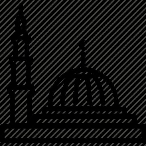 arabic, grand, islam, mosque, muscat, muslim, oman icon