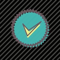 accomplishment, achievement, badge, best, certificate, certification, favorite icon