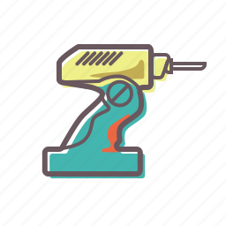 assembly, build, building, construct, construction, drill, drillmaster, repair icon