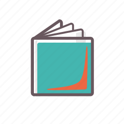 book, booklet, data, document, education, information, knowledge icon