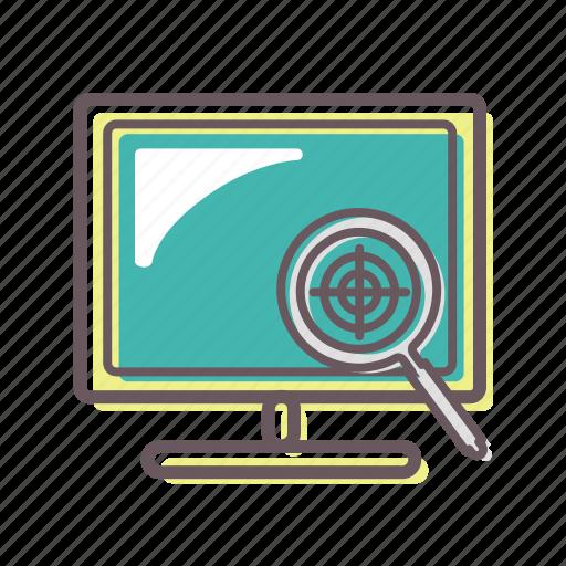 colorproof, display, loupe, monitor, pre-press, prepress, proof icon