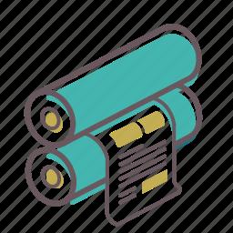 flexo, offset, paper, press, print, printer, printing icon