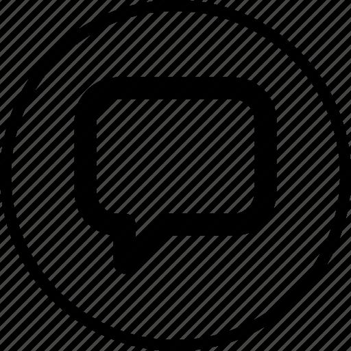 bubble, chat, menu, nav, navigation, talk icon