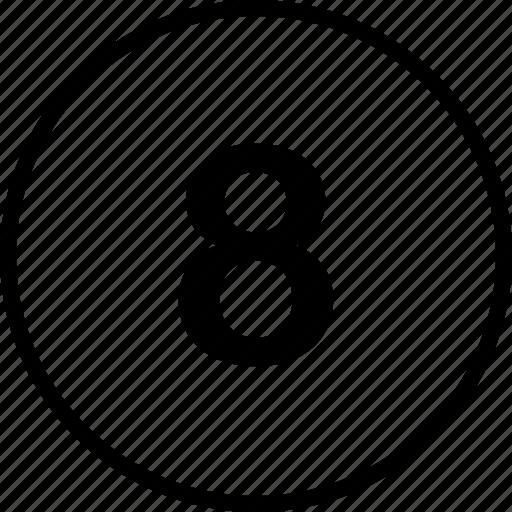 eight, menu, nav, navigation icon