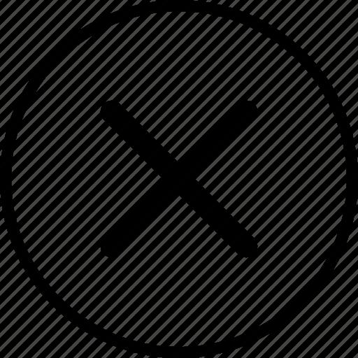 cross, delete, menu, nav, navigation, x icon
