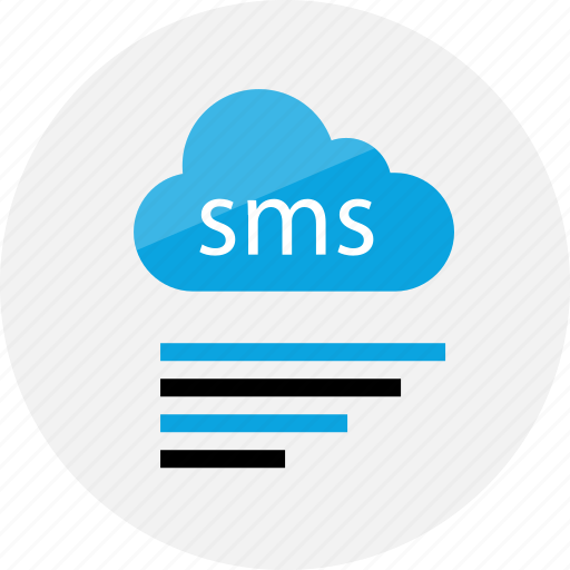 bars, chat, cloud, conversation, data, sms, talk icon