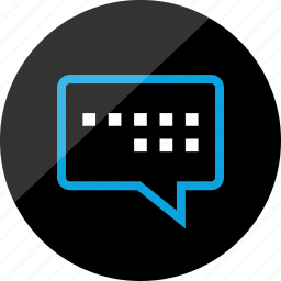 chat, conversation, instant, messenger, sms, talk, talking icon