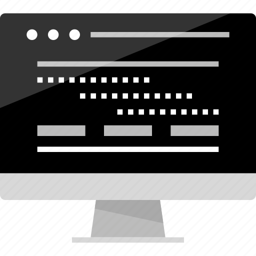 activity, computer, connect, internet, mockup, online, wireframe icon
