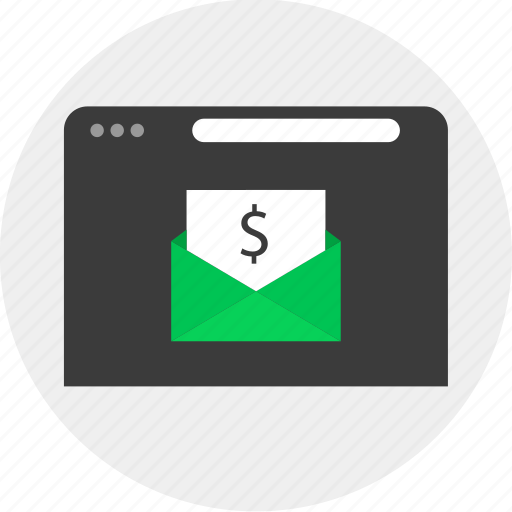 Business, email, money, online icon - Download on Iconfinder