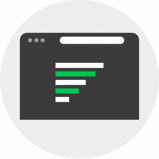 browser, business, online, results icon