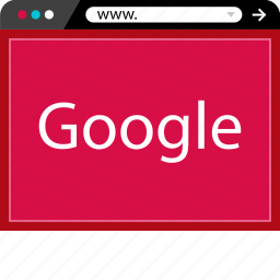 browser, google, internet, search, web icon