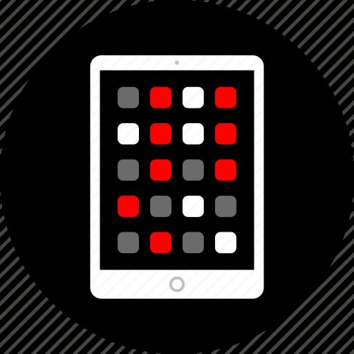 app, apps, ipad, pad, tablet icon