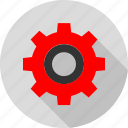 gear, online, option, settings icon