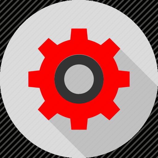 gear, online, option, settings icon