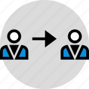 arrow, point, user, web