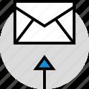 development, email, envelope icon