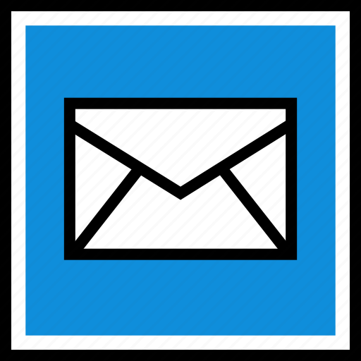 email, mail, web icon