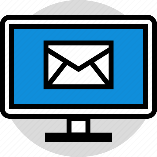 email, mail, technology, web icon