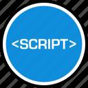 development, script, web icon