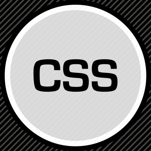 cascading, sheet, style, technology icon