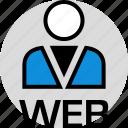 person, persona, technology, user icon