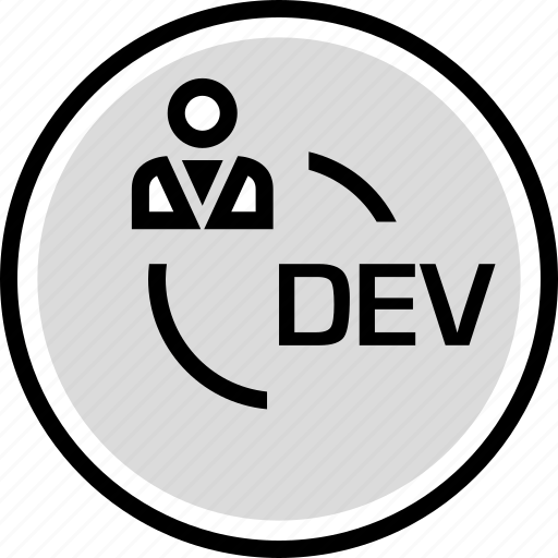 development, persona, user, web icon
