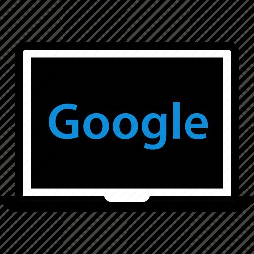 google, laptop, mac, seo icon