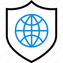 internet, safe, secured icon