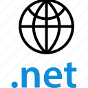 extension, globe, net icon