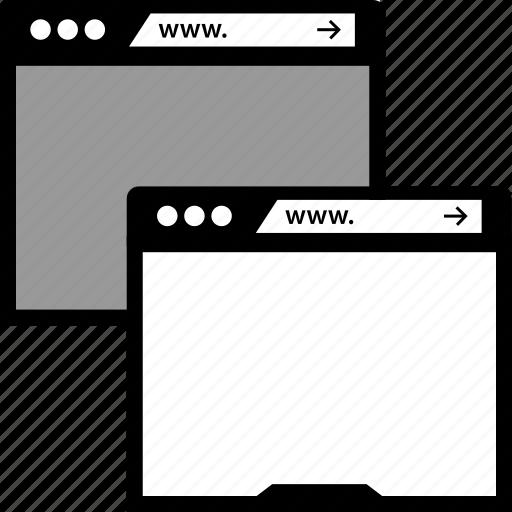seo, two, windows icon