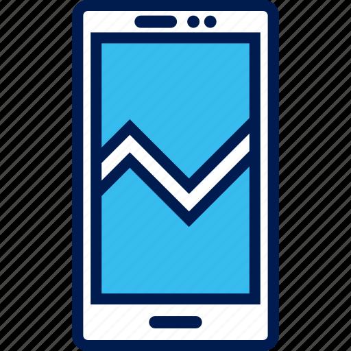 analytics, phone, seo, web icon