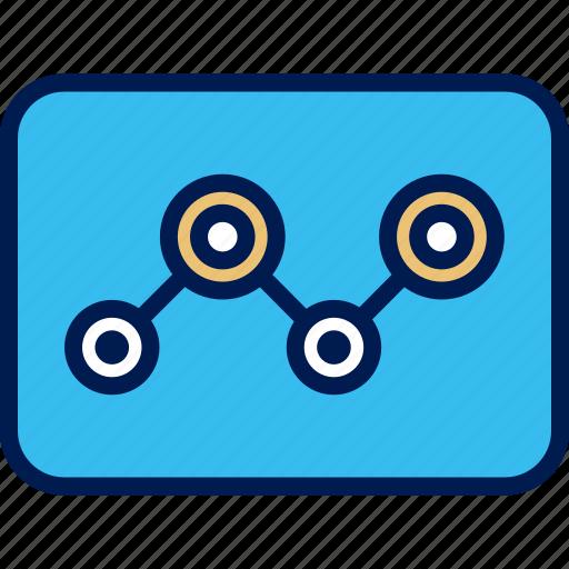 analytics, seo, tube, web icon