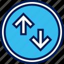 activity, arrow, online icon
