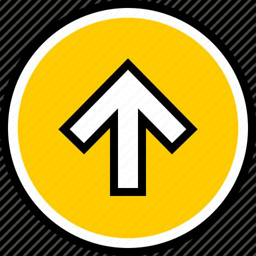 arrow, data, graphics icon