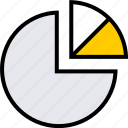 chart, info, pie icon