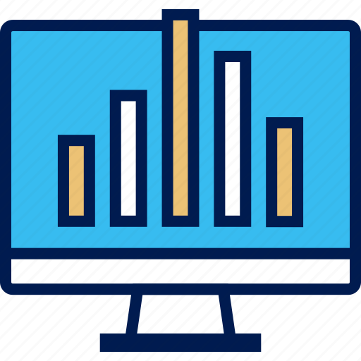 data, graphic, up icon