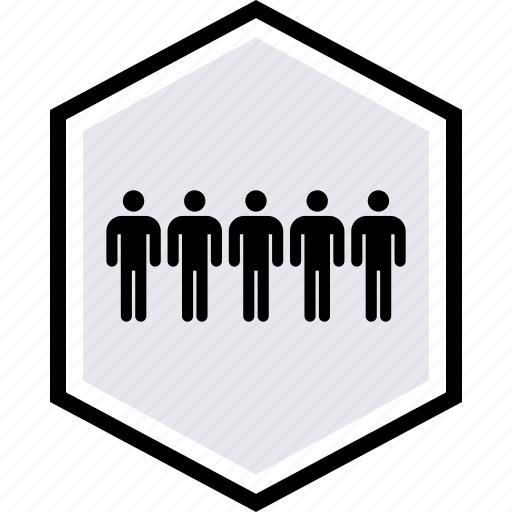 five, info, users icon