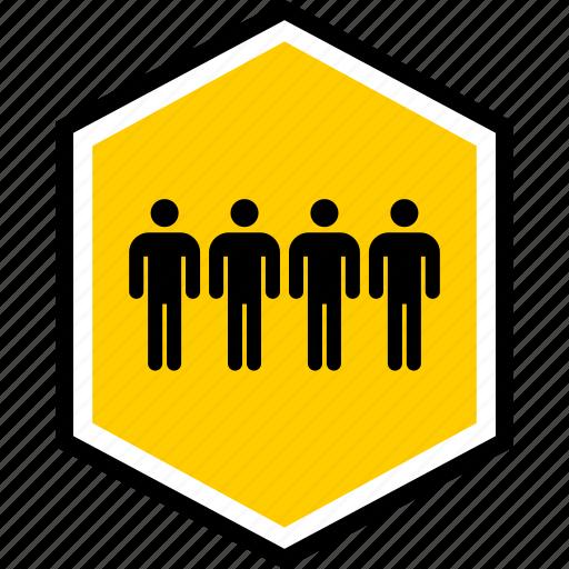 data, four, user icon