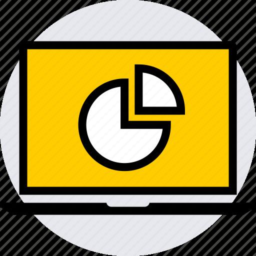 graph, graphics, info, pie icon