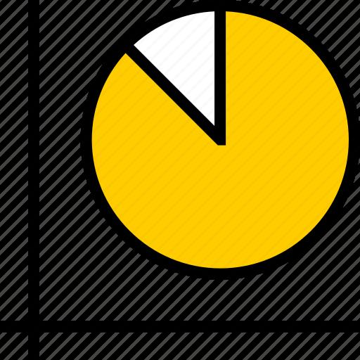 graph, pie, report icon