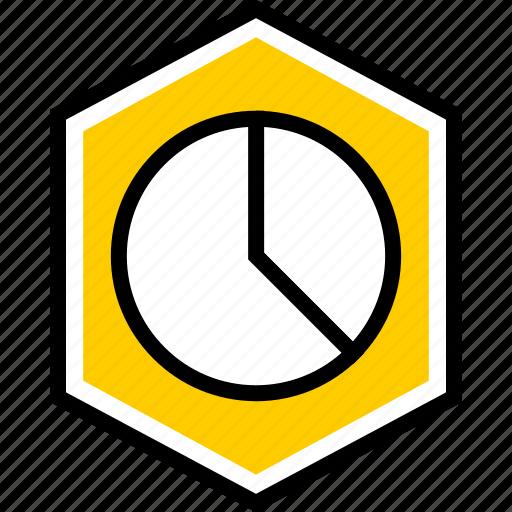data, graphics, info, pie icon