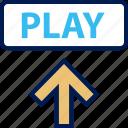 play, upload