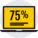 data, graphics, info, seventy, 75 icon
