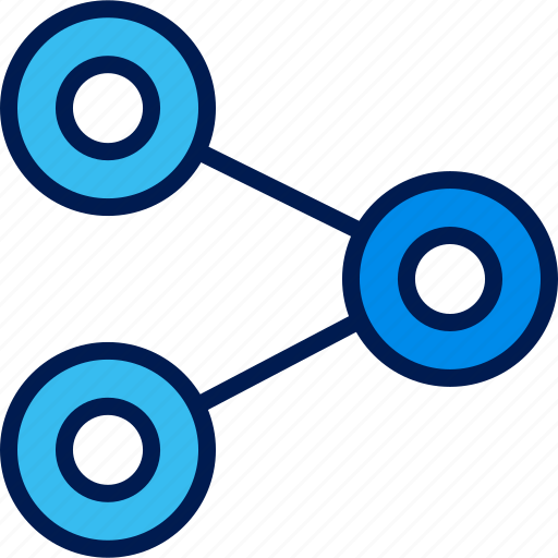 data, graphic, share, web icon