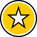 data, favorite, graphics, star icon