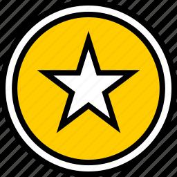 data, graphics, info, star icon