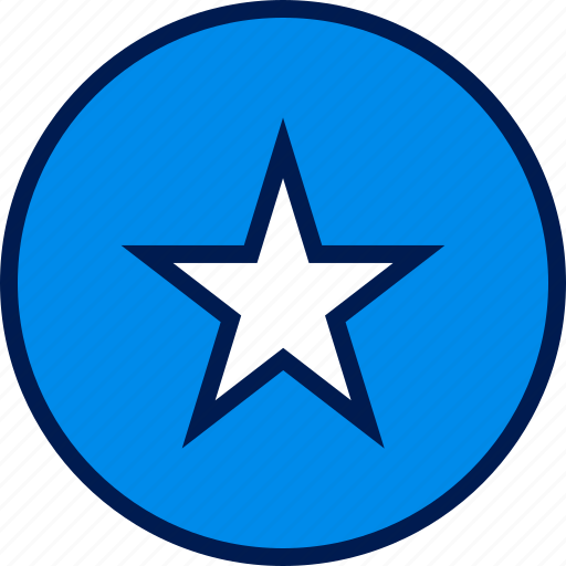 favorite, save, star, web icon