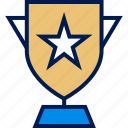 award, star, trophy icon
